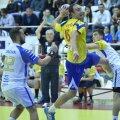 Vali Ghionea a marcat aseară de 5 ori contra Kosovo // Foto: Cristi Preda