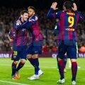 Un argentinian (stînga), un brazilian şi un uruguayan (nr. 9) dau savoare Barcelonei // Foto: Guliver/GettyImages