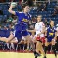 Gabriela Perianu a înscris aseară 4 goluri, fiind a doua marcatoare a României, după Cristina Neagu, cu 9
