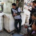 În zonele controlate de Statul Islamic, îţi rişti viaţa şi dacă vezi un meci de fotbal // Foto: Reuters