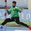 Portarul Rudi Stănescu a avut evoluţii excelente în acest sezon ale cupelor europene // Foto: Telegraf Constanţa