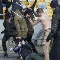 KIEV. Scaun devenit armă în mîna huliganilor dezlănțuiți