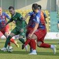 Partida de la Chiajna a fost lipsită de spectaculozitate, jucătorii ambelor echipe pierzîndu-se în driblinguri inutile