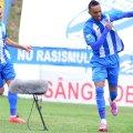 Rocha a ajuns la 7 reușite în acest sezon, fiind golgeterul Științei // Foto: Bogdan Dănescu (Craiova)