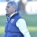 Sorin Cârțu a ajuns de mai multe ori în timpul meciului în genunchi