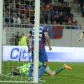 Momentul meciului: Ianis Zicu înscrie singurul gol al partidei