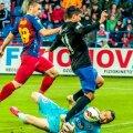 Impecabil în fața atacanților adverși, Stăncioiu i-a dat ieri și o pasă de gol lui Goga