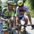 Alberto Contador (stînga) și Peter Sagan, doi dintre oamenii de urmărit în următoarele 3 săptămîni // Foto: Reuters