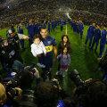 O imagine superbă. Carlitos, copiii și zeci de mii de licurici pe Bombonera. Fericirea Boca