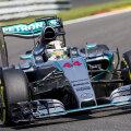 Lewis Hamilton şi-a strunit cu abilitate bolidul ieri pe durata calificărilor // Foto: Reuters