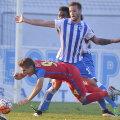La trei minute după ce Rădoi l-a trimis pe teren, Enceanu a obținut penalty, fiind faultat de Dumitraș