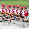 Barca de 8+1 a terminat pe locul 4 la Mondialele de anul trecut și a obținut bronzul la Europene în acest an // Foto: Mediafax
