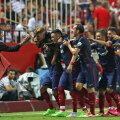 Diego Simeone (stînga) și luptătorii săi madrileni // Foto: Reuters