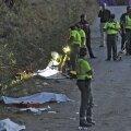 Victimele, acoperite de cearceafuri. 6 morți este bilanțul tragediei de sîmbătă din nord-vestul Spaniei