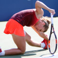 Simona încerc să alunge durerile // Foto: Reuters