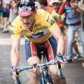 Ben Foster a filmat în Franța, pe cele mai aspre cățărări din ciclism, foto: reuters