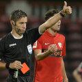 Radu Petrescu a avut un meci dificil aseară, dar deciziile importante le-a luat corect