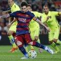 Messi, căpitanul Barcei cu Levante. Va pierde Primera cel mai bun jucător din lume? // Foto: Reuters