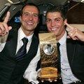 Jorge Mendes, alături de Cristiano Ronaldo