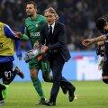 Roberto Mancini e cel mai bine plătit tehnician din Serie A, 4 milioane euro anual la Inter // Foto: Reuters