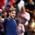 Roger Federer s-a calificat fără emoții în semifinalele de la Londra, foto: reuters