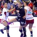 Olandeza Louise Abbingh a jucat bine doar în prima parte a meciului de ieri // Foto  sportpictures.eu