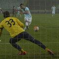 Penalty-ul din care Axente a făcut 0-1, deschizînd drumul Mureșului către prima victorie după 5 etape // Foto: Cristi Preda