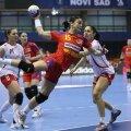 Valentina Ardean Elisei a înscris de 4 ori în meciul pierdut contra Poloniei la CM din 2013
