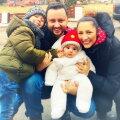 Eva, Andra, David şi Cătălin Măruță ► Foto: Facebook