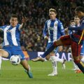 Neymar (dreapta) are 71 de goluri și 40 de assisturi în 114 meciuri pentru Barca, dar și un dosar cu multe pagini // Foto: Reuters
