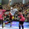 Allison Pineau e golgeterul Ligii Campionilor, avînd acum 55 de goluri marcate // Foto: sportpictures.eu