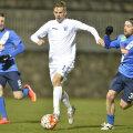 Nicuşor Bancu a fost unul dintre cei mai activi fotbalişti ai Craiovei în amicalul de ieri