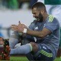 """Karim Benzema, 23 de goluri în 22 de meciuri la Real în 2015-2016. """"A obosit să tot vorbească de sextape"""", l-a apărat Zidane Foto: Guliver/GettyImages"""