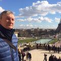 Într-o plimbare în zona Tour Eiffel, unde se va amenaja un fanzone pe durata lui Euro 2016
