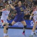 Oana Manea a înscris 7 goluri aseară, fiind a doua marcatoare a României, după Eliza Buceschi, 11