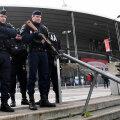 Stade de France păzit de polițiști cu armele la vedere // Foto AFP