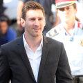 Messi, ieșind de la una dintre audierile în procesul de evaziune în care e implicat