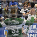 16 goluri a marcat Cristina Vărzaru pentru CSM în actuala ediție a Ligii Campionilor // FOTO Raed Krishan