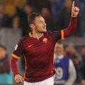 """Francesco Totti i-a dedicat golurile de miercuri soției Ilary, cu un """"te amo"""" în fața camerelor TV"""