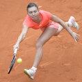 Simona Halep a fost învinsă anul trecut în primul tur de Alize Cornet // FOTO Alex Nicodim