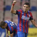 Keşeru a fost ultimul golgeter al roş-albaştrilor, el jucând la Steaua pe tot parcursul anului 2014