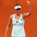 Irina Begu la finalul meciului, victorioasă şi surâzătoare // FOTO Guliver/GettyImages