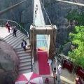 Acesta este cel mai înfricoşător pod construit vreodată! ► Foto: youtube.com