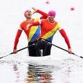 Leonid Carp și Ștefan Strat au calificat în luna mai canoea de doi pe 1.000 de metri la Jocurile Olimpice // FOTO Guliver/GettyImages