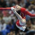 Cătălina Ponor are în palmares 10 medalii europene // FOTO AFP