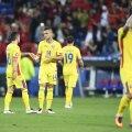"""""""Galbenii"""" români au un singur succes în 16 meciuri la Euro, 3-2 cu Anglia în 2000. Acum, Andone și Stanciu au fost ultimii în grupă // FOTO: Alex Nicodim"""