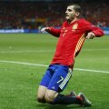 Morata a marcat 2 goluri până acum la Euro 2016 // Foto: Reuters