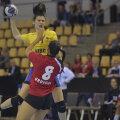 Mădălina Zamfirescu a marcat 15 goluri la Mondialul Universitar de la Malaga // FOTO Cristi Preda