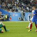 Scărița lui Griezmann nu i-a dat nicio șansă portarului islandez // FOTO Reuters