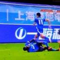 Demba Ba, 31 de ani, rămâne cu 14 goluri în 18 jocuri pentru Shanghai Shenhua în actuala CSL